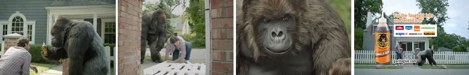 Gorilla Glue TV Ads